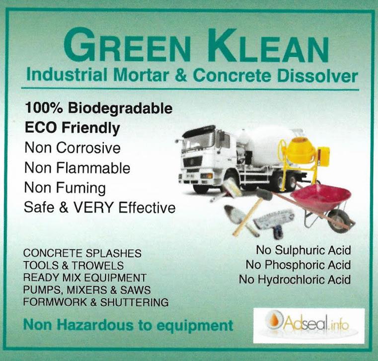Green Klean Concrete Amp Mortar Dissolver