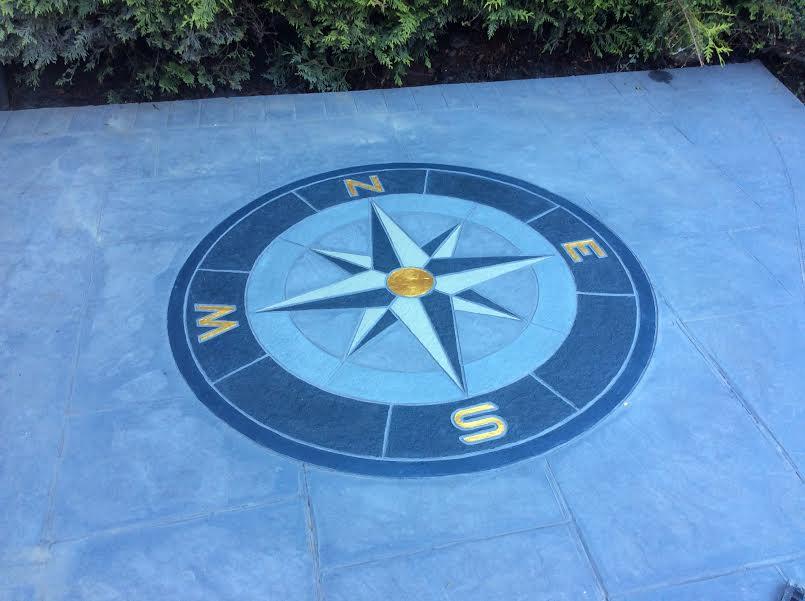 Compass: Concrete colouring