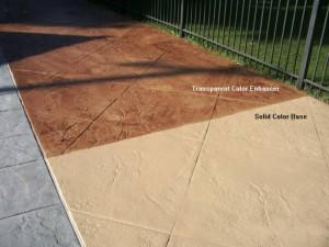 Caramel (213) Solid Color Stain Base. Light Oak (295) Translucent Color Enhancer